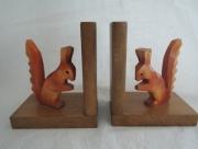 Boekensteunen met Eekhoorntjes