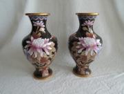 Cloisonne Vazen van 21 centimeter