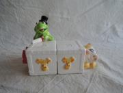 Kermit de Kikker en Miss Piggy