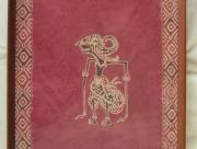 Ingelijste Batik van Wajangpop